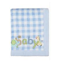 Manta Para Bebê Fleece Bordada Lepper