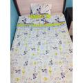 Jogo De Berço 2 Peças Mickey Disney Azul Quarto Bebê Menino