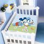 Cobertor Jolitex Infantil Berço Bebê Disney Mickey Amiguinho