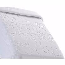 Cobertor Infantil Raschel C/ Relevo Jolitex Branco