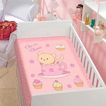 Cobertor Jolitex Infantil Berço Bebê Tradicional Chocolat