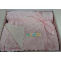 Edredom | Cobertor Dupla Face Bebê 90cm X 1,10m Jolitex