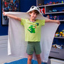 Cobertor / Manta Infantil Microfibra Com Capuz Panda