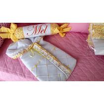Saco De Dormir Porta Bebê + Balinha Rolinho Personalizado