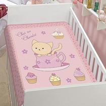Cobertor Para Bebê Anti-alérgico Jolitex Chat Au Chocolat