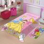 Cobertor Jolitex Infantil Disney Princesas1,50x2,00 Solteiro