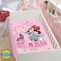 Manta Cobertor Jolitex Disney Minnie Foquinha 0,80x1,10