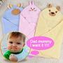 Manta Saco De Domir Antialérgico Bebe Cobertor Bichinhos