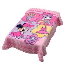 Cobertor Disney Brincando De Boneca Rosa Jolitex