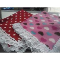 Cobertor Soft Manta Bebê Lisa Baby Microfibra