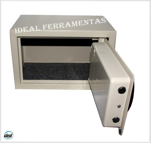 Cofre Eletrônico Digital C/ Travas Em Aço +chaves Emergência