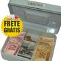 Cofre Cash Box Prateleira Porta Valores Ss320 Frete Grátis
