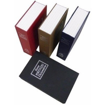 Livro Em Formato De Cofre Com Chave Pequena + Frete Gratis