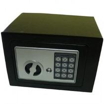 Cofre Eletrônico Teclado Com Senha Com 2 Chaves Dtoffice