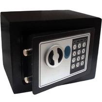 Cofre Eletrônico Digital Mini Em Aço