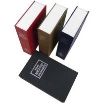 Cofre Livro Camuflado Com Chaves Dicionario Paris Pequeno
