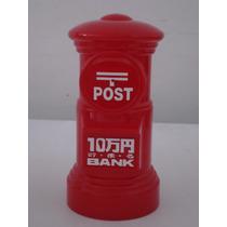 Cofre Caixa De Correio Porta Moedas Decoração Post Bank