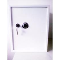 Cofre De Fixar C/chave,segredo,2 Prateleiras 50 X 40 X 40cm