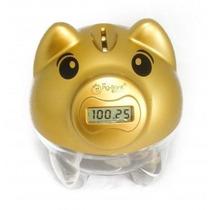 Cofre Pig Bank Porquinho Digital Conta Moedas Presente Porco