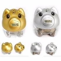 Cofre Pig Bank Porquinho Digital Conta Moedas
