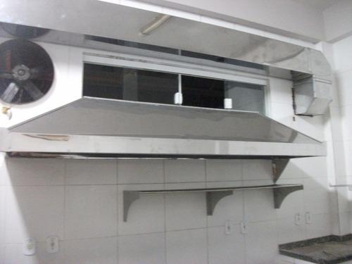 Coifa Industrial Em Aço Inox Sob Medida