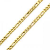 Corrente Folheada A Ouro 18k Caixa De Luxo