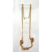 Cordão Corrente Ouro Amarelo 18k Longo - 62,5 Cm