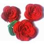 Frete Grátis!! 06 Flores De Croche P Tictac Colar E Colares