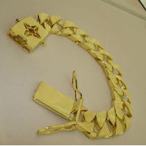 Pulseira Fire Blade Elegante Bom Gosto Estilo Banhada A Ouro