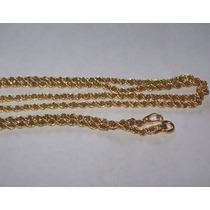 Corrente Cordão Baiano Em Ouro 18k Paolajoias