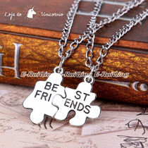 Colar Best Friend - Amizade Melhores Amigas Quebra-cabeça