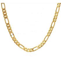 Colar Cordão Masculino Dourado Banhado A Ouro 18 K Elegante