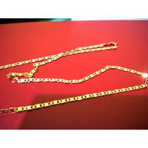 Cordão Fino Banhado A Ouro 18k 60cm 00023d