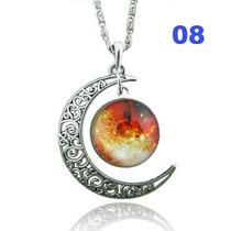 Colar Místico Prata - Lua 8