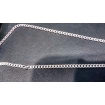 Cordão Prata 925 Masculino - Corrente Italiana Grumet Fino