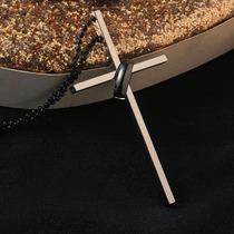 Colar Feminino Cruz Crucifixo Em Aço Inoxidável Frete Grátis