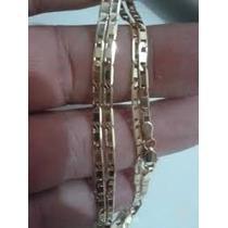 Cordão Piastrine Modelo Italiano Ouro 18k 750 Maciço