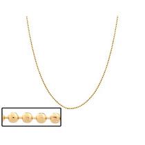 Corrente Diamantada Fina, 40 Cm Ouro Rommanel