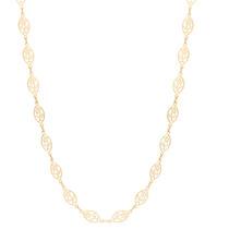 Cordao Rommanel 45-50cm Folheado Ouro 531482