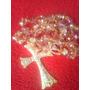 Terço De Noivas Cristal Com Banho Dourado. Frete R$10,00