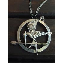 Colar Jogos Vorazes ( The Hunger Games) Tordo, Em Metal