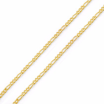 Corrente Cordão Masculino 3 X 1 Em Ouro 18k-750 Imperdível