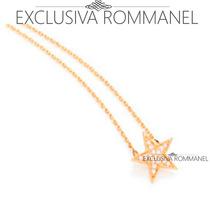 Exclusiva Rommanel Gargantilha Fio Cartier Estrela 531538