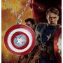 Colar Capitão América Marvel - Frete Barato - Envio 24 Horas