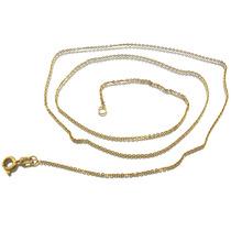 Linda Corrente De Elo Cartier Em Ouro Amarelo 18k J16594