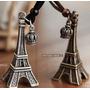 Corrente Cordão Colar Pingente Torre Eiffel Paris Vintage