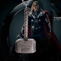 Colar Martelo Mjolnir Thor Avengers - Vingadores