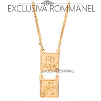 Rommanel Escapulario Infantil Medalha Anjo My Angel 531579
