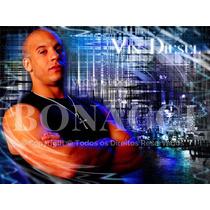 Vin Diesel Colar Cordão Terço Masculino Velozes Furiosos Aço