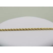 Cordão Corrente Baiana Masculina Em Ouro 18k-750